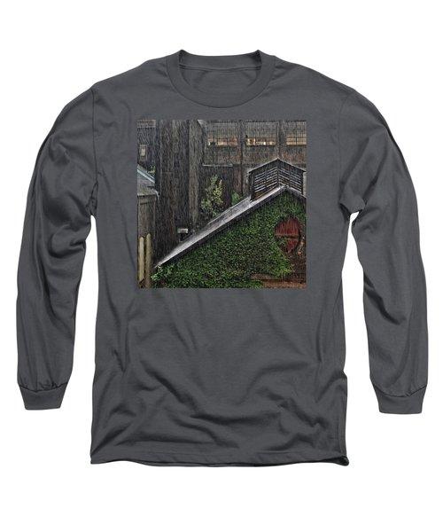 Hard Rain Long Sleeve T-Shirt by DJ Florek