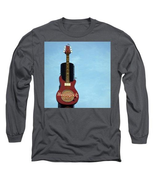 Hard Rock Cafe Long Sleeve T-Shirt by Joseph Skompski