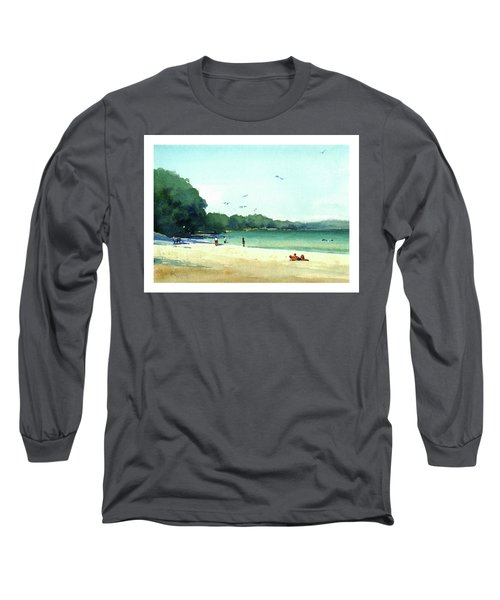 Harrington Beach, Wisconsin Long Sleeve T-Shirt
