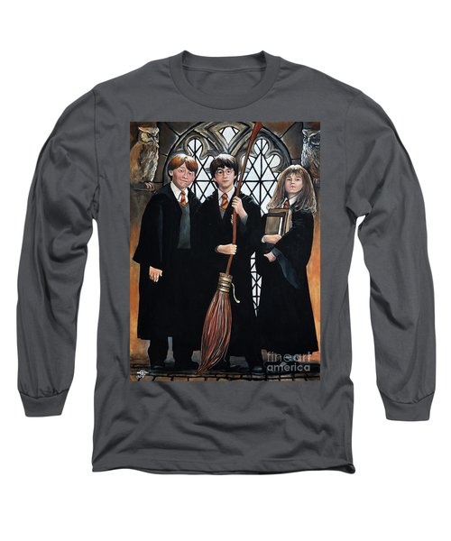 Harry Potter Long Sleeve T-Shirt by Tom Carlton