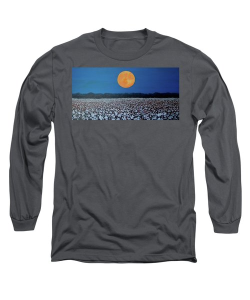 Harvest Moon Long Sleeve T-Shirt by Jeanette Jarmon