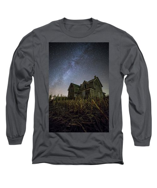 Long Sleeve T-Shirt featuring the photograph Harvested  by Aaron J Groen