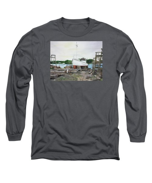 Harvey A. Drewer Long Sleeve T-Shirt by Stan Tenney