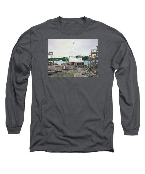 Harvey A. Drewer Long Sleeve T-Shirt