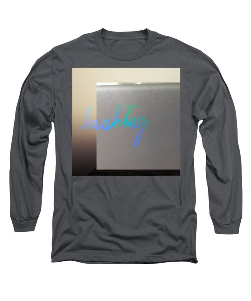 Hashtag Long Sleeve T-Shirt