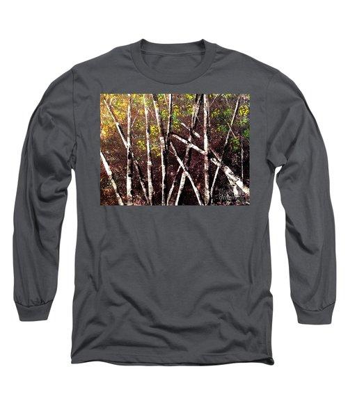 Haunted Birches Long Sleeve T-Shirt