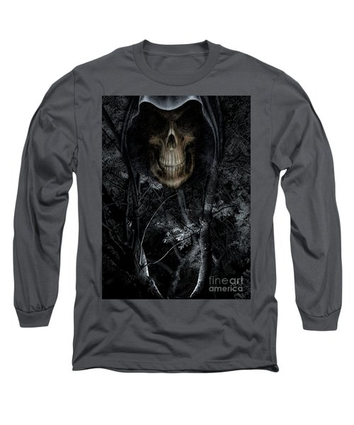 Long Sleeve T-Shirt featuring the photograph Haunted Forest by Al Bourassa