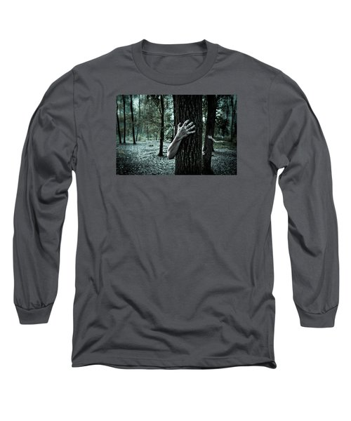 Haunted Forest  Long Sleeve T-Shirt