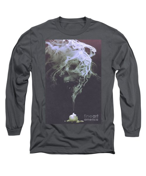 Haunted Smoke  Long Sleeve T-Shirt