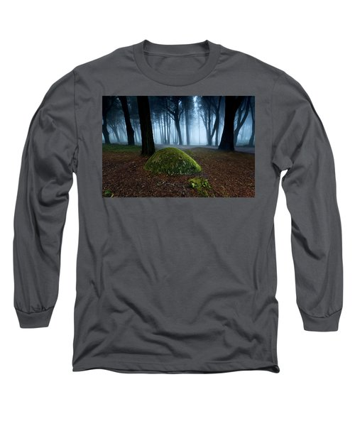 Long Sleeve T-Shirt featuring the photograph Haunting by Jorge Maia