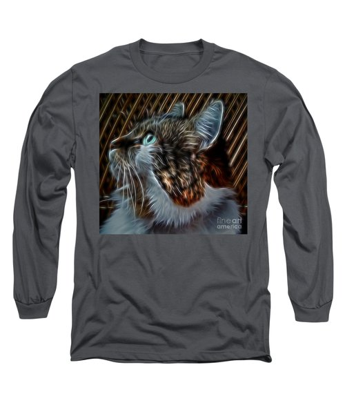 Haunting Stare Long Sleeve T-Shirt