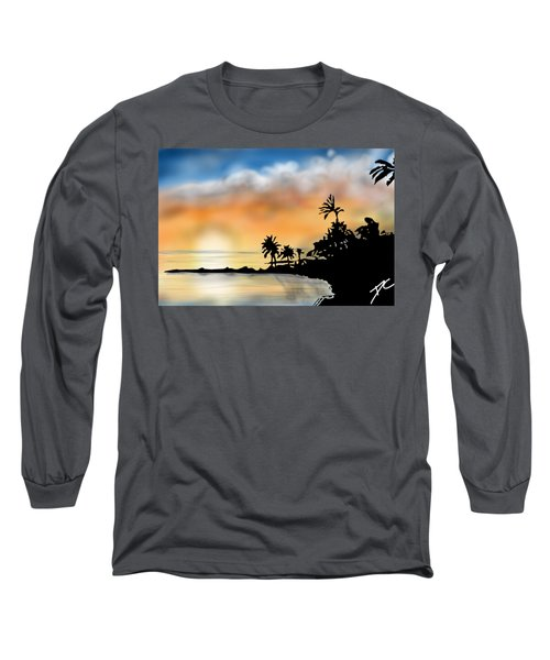 Hawaii Beach Long Sleeve T-Shirt