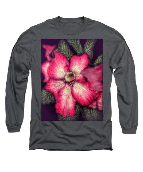 Hawaii Flower Long Sleeve T-Shirt