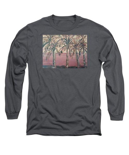 Hawaiian Sunset Long Sleeve T-Shirt