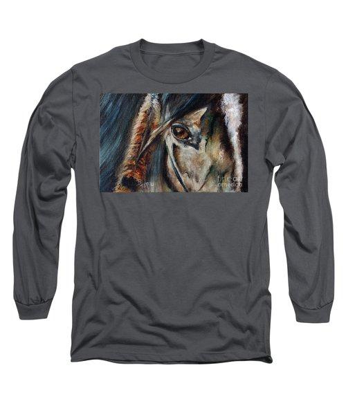 Hawk Long Sleeve T-Shirt by Barbie Batson