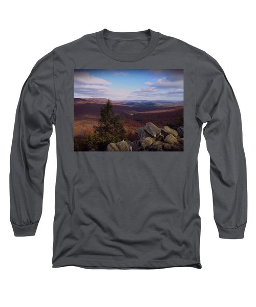 Hawk Mountain Sanctuary Long Sleeve T-Shirt