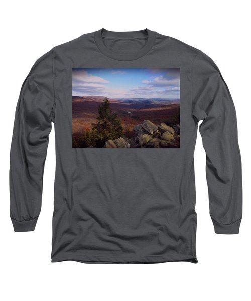 Hawk Mountain Sanctuary Long Sleeve T-Shirt