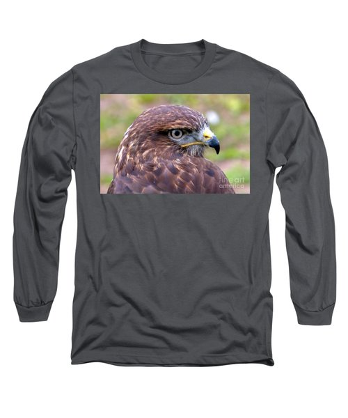 Hawks Eye View Long Sleeve T-Shirt by Stephen Melia