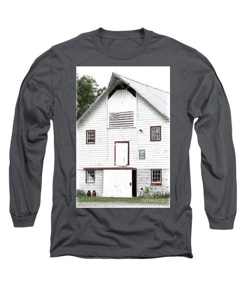 Hay For Sale Long Sleeve T-Shirt by Nicki McManus