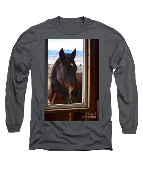 Hay There Long Sleeve T-Shirt