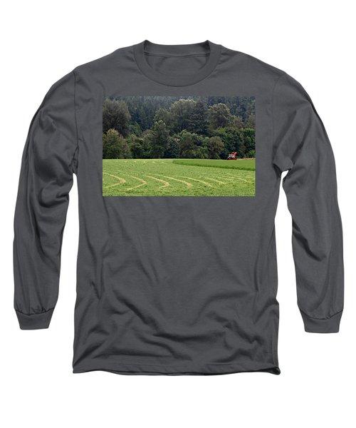 Haying  Long Sleeve T-Shirt
