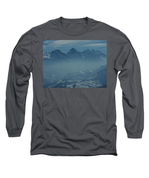 Haze In The Valley Long Sleeve T-Shirt