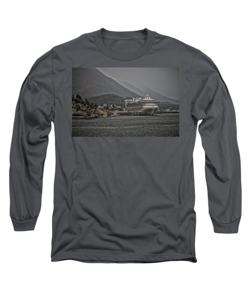 Hazy Day In Paradise  Long Sleeve T-Shirt by Timothy Latta