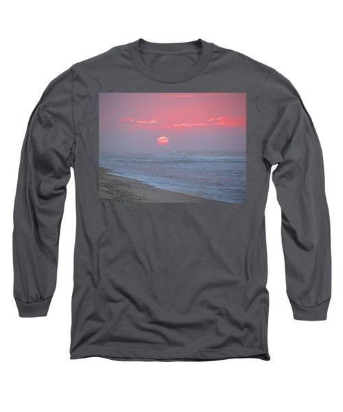 Hazy Sunrise I I Long Sleeve T-Shirt by  Newwwman