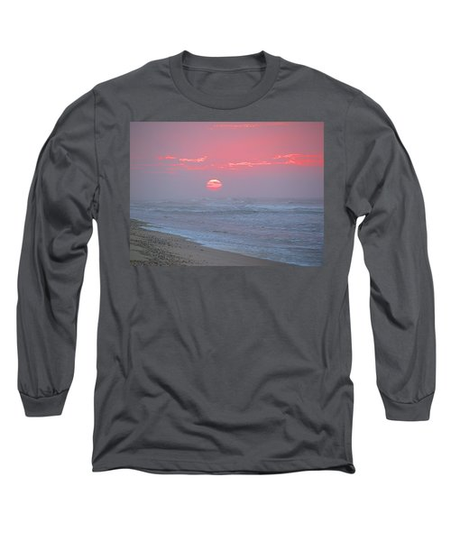 Hazy Sunrise I I Long Sleeve T-Shirt