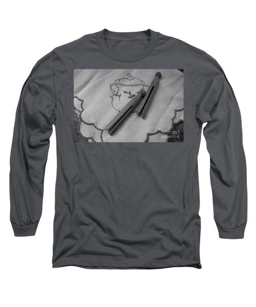 Long Sleeve T-Shirt featuring the photograph He Snored by Ann E Robson