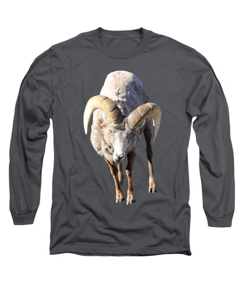 Head-on Long Sleeve T-Shirt by Shane Bechler