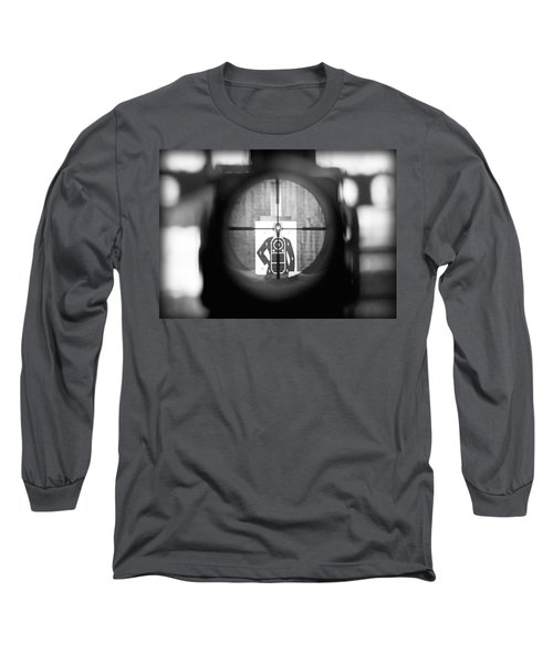 Head Shot Long Sleeve T-Shirt