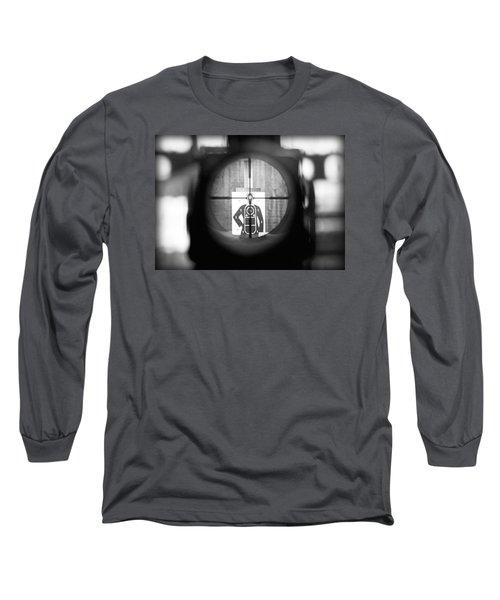 Head Shot Long Sleeve T-Shirt