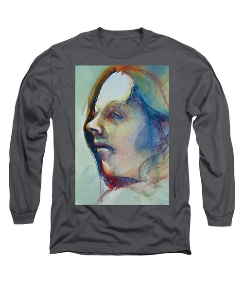 Head Study 7 Long Sleeve T-Shirt