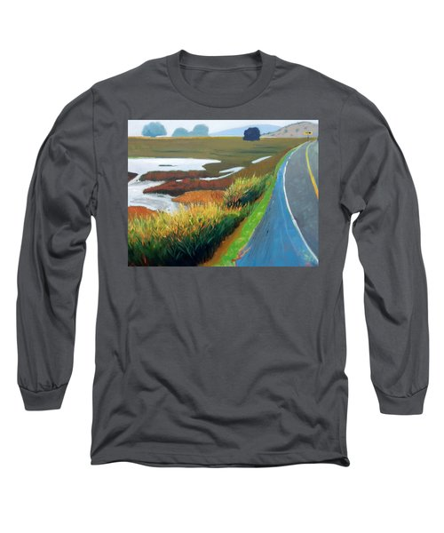 Long Sleeve T-Shirt featuring the painting Heading North by Gary Coleman