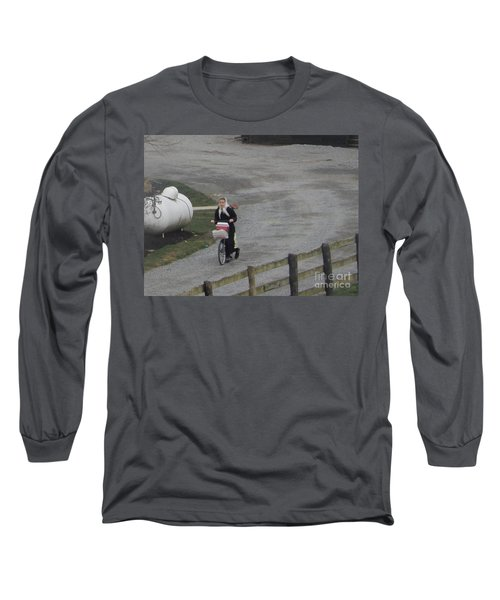 Heading Off To School Long Sleeve T-Shirt