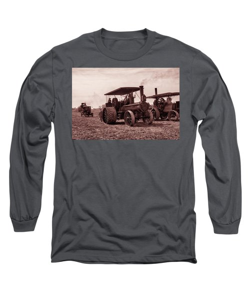 Heading Out Antiqued Long Sleeve T-Shirt