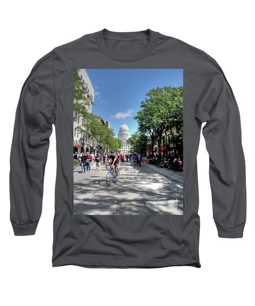 Heading To Camp Randall Long Sleeve T-Shirt