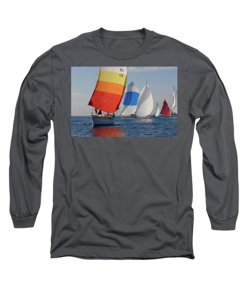 Heading Towind Windward Mark Long Sleeve T-Shirt
