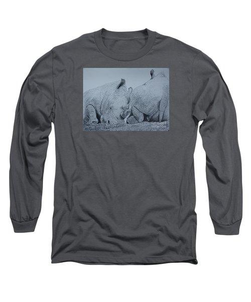 Heads Or Tails Long Sleeve T-Shirt by David Joyner