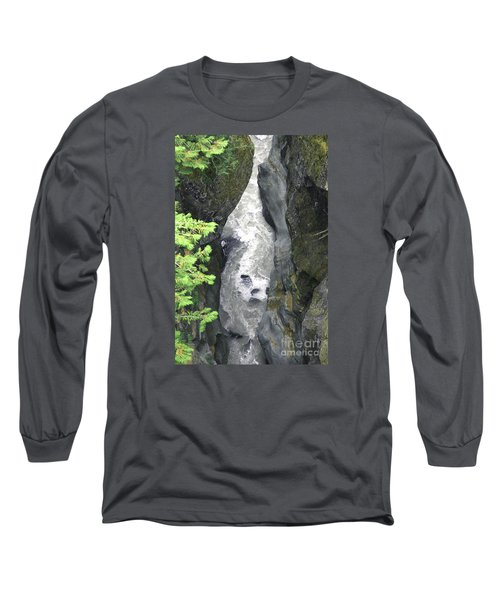 Headwaters Of The Cowlitz River Long Sleeve T-Shirt by Rich Collins