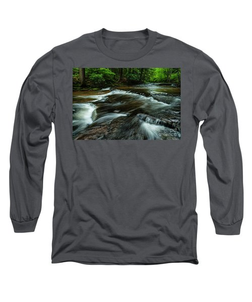 Headwaters Of Williams River  Long Sleeve T-Shirt