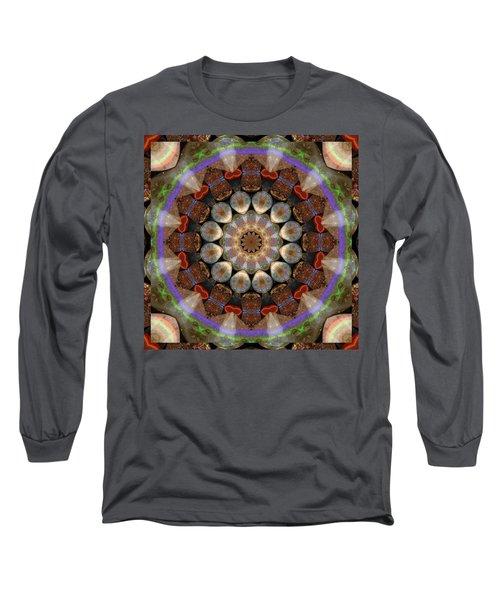 Healing Mandala 30 Long Sleeve T-Shirt