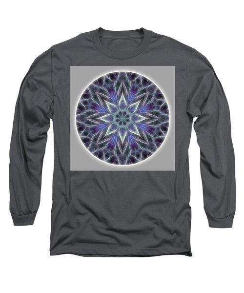 Health And Happiness Mandala Long Sleeve T-Shirt
