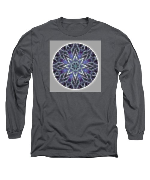 Health And Happiness Mandala Long Sleeve T-Shirt