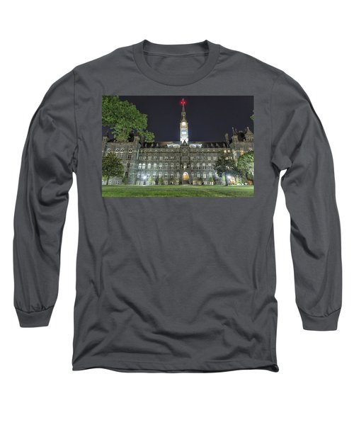 Healy Hall Long Sleeve T-Shirt by Belinda Greb