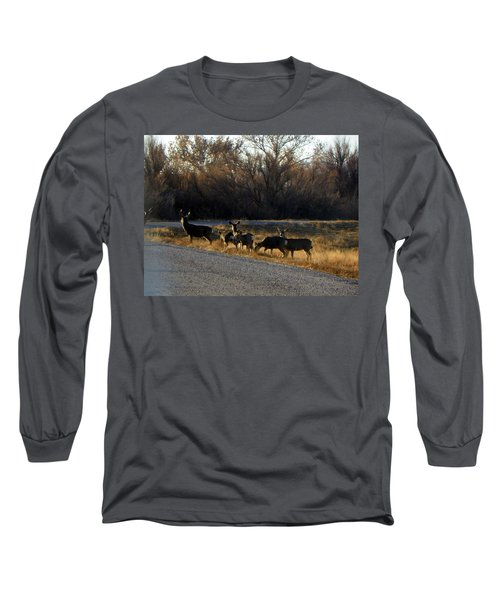 Heard Of Deer Long Sleeve T-Shirt
