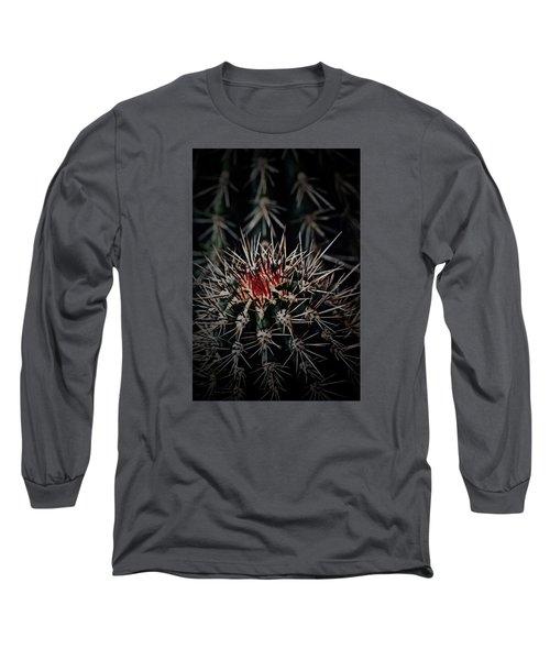 Heart-blood Long Sleeve T-Shirt by Tim Good