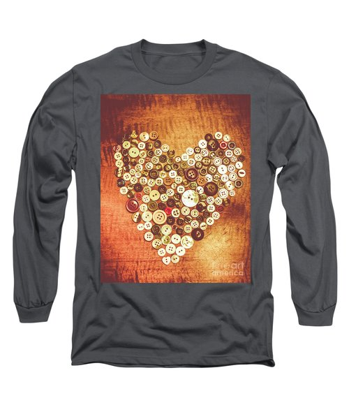 Heart Of A Tailor Long Sleeve T-Shirt