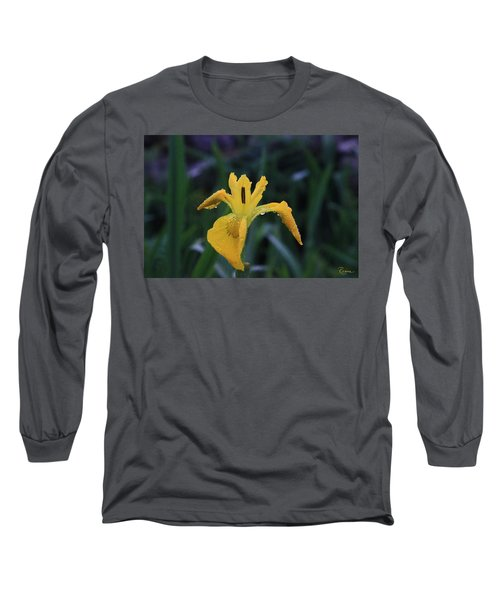 Heart Of Iris Long Sleeve T-Shirt